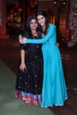 Ashwiny Iyer Tiwari, Kriti Sanon promote Bareilly Ki Barfi on the sets of The Kapil Sharma Show on 9th Aug 2017 (110)_598c06db2b256.JPG