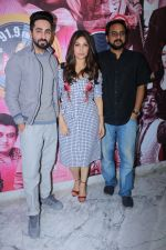Ayushmann Khurrana, Bhumi Pednekar Visit Radio Station To Promote Song Kanha on 17th Aug 2017 (1)_5995aa46ef906.JPG