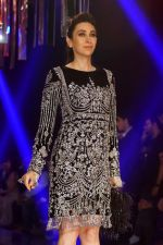 Karisma Kapoor as Guest For Manish Malhotra At LFW Winter Festive 2017 on 20th Aug 2017