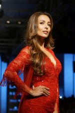 Malaika Arora Walks Ramp For Riddhi Mehra At LFW Winter Festive 2017 on 20th Aug 2017