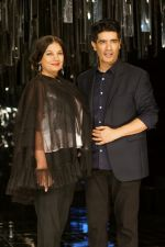 Shabana Azmi as Guest For Manish Malhotra At LFW Winter Festive 2017 on 20th Aug 2017