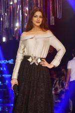 Sonali Bendre as Guest For Manish Malhotra At LFW Winter Festive 2017 on 20th Aug 2017
