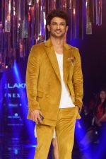 Sushant Singh Rajput as Guest For Manish Malhotra At LFW Winter Festive 2017 on 20th Aug 2017