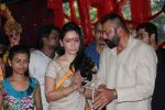 Sanjay Dutt, Manyata Dutt At The Shoot For The Ganesh Aarti on 23rd Aug 2017 (36)_599e75156cc6a.JPG