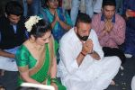 Sanjay Dutt, Manyata Dutt At T Series For Celebration Of Ganesh Chaturthi on 25th Aug 2017 (57)_59a017c06cf7a.JPG