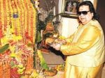 Bappi Lahiri celebrates Ganesh festival with a release of a song on 25th Aug 2017._59a2352d0fcd2.jpg