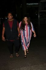 Ganesh Acharya With Wife Spotted At Airport on 28th Aug 2017 (2)_59a3c9c052bac.JPG