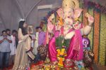 Poonam Pandey Came For Darshan At Andheri Cha Raja on 28th Aug 2017 (8)_59a5082024832.JPG
