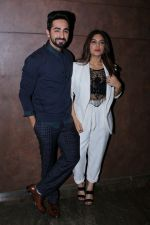 Bhumi Pednekar, Ayushmann Khurrana at the Special Screening Of Film Shubh Mangal Savdhan on 31st Aug 2017 (11)_59a9101d3b7e2.JPG