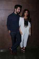 Bhumi Pednekar, Ayushmann Khurrana at the Special Screening Of Film Shubh Mangal Savdhan on 31st Aug 2017 (14)_59a9101e626a2.JPG
