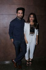 Bhumi Pednekar, Ayushmann Khurrana at the Special Screening Of Film Shubh Mangal Savdhan on 31st Aug 2017 (16)_59a9101f1a73b.JPG