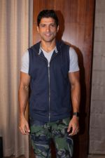 Farhan Akhtar Spotted to Promote their Film Lucknow Central on 31st Aug 2017 (16)_59a8fc82c3d65.JPG