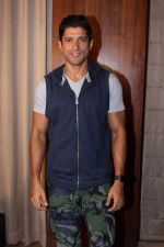 Farhan Akhtar Spotted to Promote their Film Lucknow Central on 31st Aug 2017 (17)_59a8fc835501f.JPG