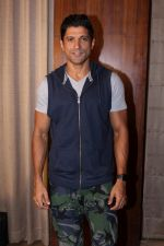 Farhan Akhtar Spotted to Promote their Film Lucknow Central on 31st Aug 2017 (18)_59a8fc83e0406.JPG
