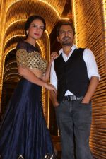 Nawazuddin Siddiqui, Bidita Bag At Success Party Of Film Babumoshai Bandookbaaz on 31st Aug 2017 (33)_59a901413a922.JPG