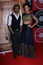 Nawazuddin Siddiqui, Bidita Bag At Success Party Of Film Babumoshai Bandookbaaz on 31st Aug 2017 (38)_59a901426894e.JPG