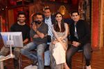 Aditi Rao Hydari, Sanjay Dutt, Sharad Kelkar, Omung Kumar, Mithun Chakraborty promote Bhoomi at The Drama Company on 4th Sept 2017 (3)_59ae57009c110.JPG
