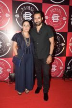 Mona Pandey and Sudhanshu Pandey at the Launch Party of Barrel & Co on 7th Sept 2017_59b1121b45ba4.JPG