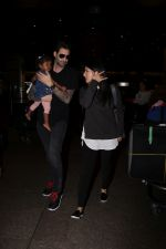 Sunny Leone, Daniel Weber Spotted At Airport on 13th Sept 2017