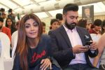Shilpa Shetty, Raj Kundra at the New Show Launch Aunty Boli Lagao Boli on 18th Sept 2017 (3)_59c0b96ce5a73.JPG