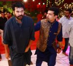 Actor Mammootty and Ramesh Kalyanaraman Executive Director Kalyan Jewellers at the Navratri party of the Kalyan Jewellers family at the Navratri party of the Kalyan Jewellers family_59c9cc4e74d0b.jpg