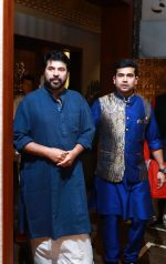 Actor Mammootty and Ramesh Kalyanaraman Executive Director Kalyan Jewellers at the Navratri party of the Kalyan Jewellers family_59c9cc4dcbdb6.jpg