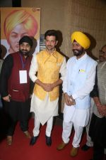 Hrithik Roshan Celebrating 110th Birth Anniversary Of Shaheed Bhagat Singh on 27th Sept 2017 (2)_59ccc1f0bf7d4.JPG