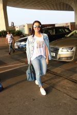 Sana Khan Spotted At Airport on 28th Sept 2017 (6)_59cce32d8aaee.JPG