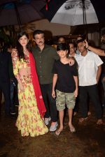 Anil Kapoor at Karva Chauth Celebrations at Anil Kapoor's House on 8th Oct 2017