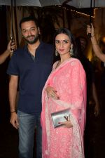 Anu Dewan at Karva Chauth Celebrations at Anil Kapoor's House on 8th Oct 2017