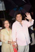 David Dhawan at Karva Chauth Celebrations at Anil Kapoor's House on 8th Oct 2017