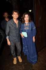 Farah Khan, Shirish Kunder at Karva Chauth Celebrations at Anil Kapoor's House on 8th Oct 2017