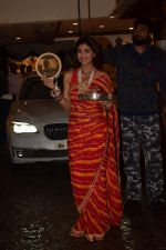 Shilpa Shetty at Karva Chauth Celebrations at Anil Kapoor's House on 8th Oct 2017