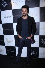 Ayushmann Khurrana at Moet & Chandon and Manish Malhotra's bash at The Party Starter on 9th Oct 2017