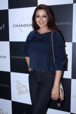 Sonali Bendre at Moet & Chandon and Manish Malhotra's bash at The Party Starter on 9th Oct 2017