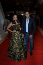 Lara Dutta, Mahesh Bhupathi at the Red Carpet Of Miss Diva Grand Finale on 11th Oct 2017