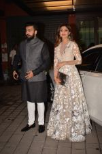 Shilpa Shetty, Raj Kundra At Arpita Khan_s Pre-Diwali Bash on 13th Oct 2017 (157)_59e2305671617.JPG