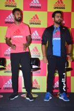 K L Rahul, Rohit Sharma at Adidas Announce The Uprising 3.0 on 16th Oct 2017