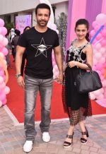 Aamir Ali, Sanjeeda Sheikh at Karanvir Bohra & Teejay Sidhu Celebrated Their Kids 1st Birthday on 22nd Oct 2017 (23)_59ed9823720aa.JPG