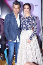 Kriti Kharbanda, Vikram Phadnis At The Press Conference Of India Beach Fashion Week on 23rd Oct 2017