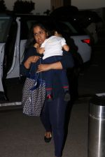 Arpita kHan spotted at airport on 25th Oct 2017 (2)_59f2d148629e3.JPG