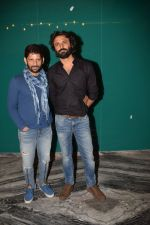 Raj Arjun, Advait Chandan at the Success Party Of Secret Superstar Hosted By Advait Chandan on 26th Oct 2017