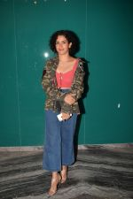 Sanya Malhotra at the Success Party Of Secret Superstar Hosted By Advait Chandan on 26th Oct 2017