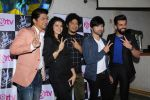 Himesh Reshammiya, Shaan, Palak Muchhal, Jay Bhanushali at the Launch Of The Voice India Kids Session 2 on 30th Oct 2017 (98)_59f8194ad7b24.JPG