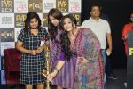 Vidya Balan, RJ Malishka & Neha Dhupia promote Movie Tumhari Sulu on 3rd Nov 2017 (245)_59fd91a438906.JPG