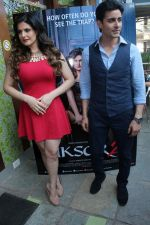 Gautam Rode, Zareen Khan at the Second Trailer Launch Of Aksar 2 on 5th Nov 2017 (18)_5a0146888d697.JPG