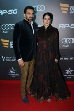 Zaheer Khan, Sagarika Ghatge at Indian Sports Honour Award 2017 on 11th Nov 2017 (245)_5a092605cbdde.JPG