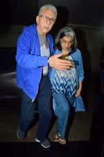 Naseeruddin Shah, Ratna Pathak Shah at the Special Screening Of An Insignificant Man on 13th Nov 2017