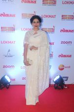 Sonali Kulkarni at the Red Carpet Of 2nd Edition Of Lokmat  Maharashtra_s Most Stylish Awards on 14th Nov 2017 (155)_5a0be35d3473a.jpg