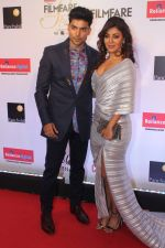 Gurmeet Chaudhary, Debina Banerjee at the Red Carpet Of Filmfare Glamour & Style Awards on 1st Dec 2017